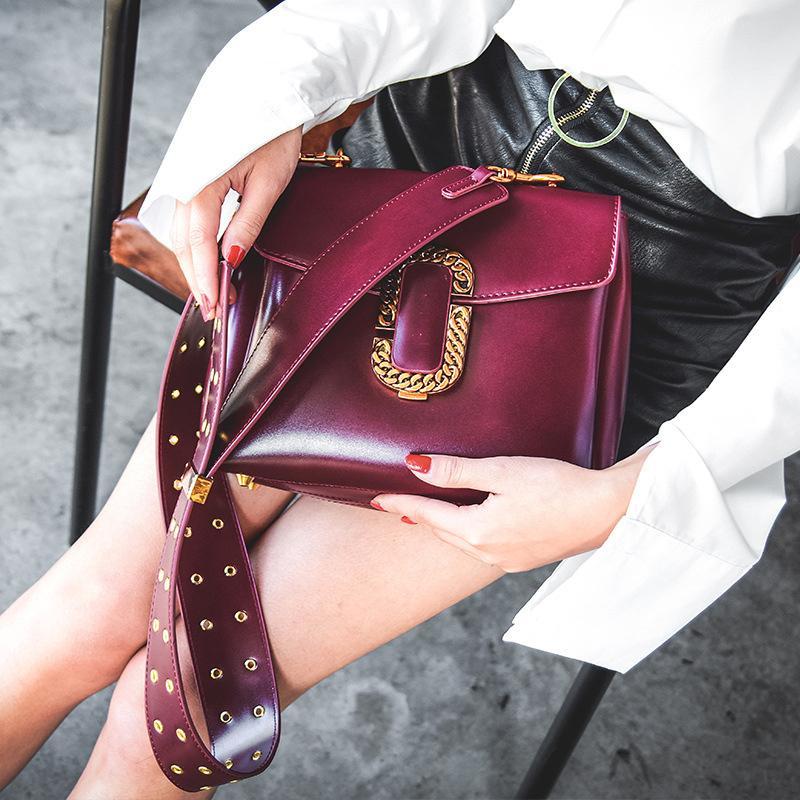 1e5f2563a54e Hot New Style Design Crossbody Bags for Women Fashion Punk Style ...