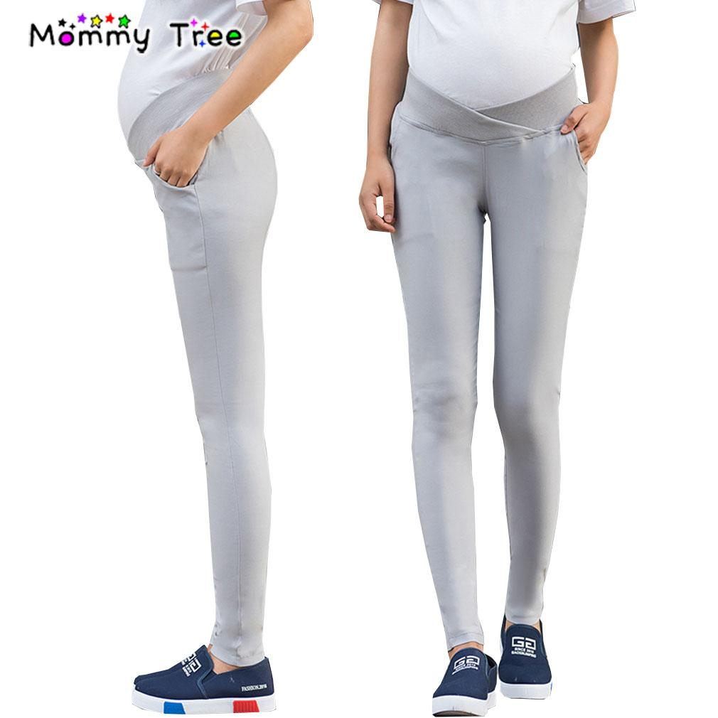 4680821d266dc Solid Color Low Waist Maternity Pants Spring Casual Slim Clothes For  Pregnant Women Plus Size Pregnancy Trousers M XXL UK 2019 From Orchidor