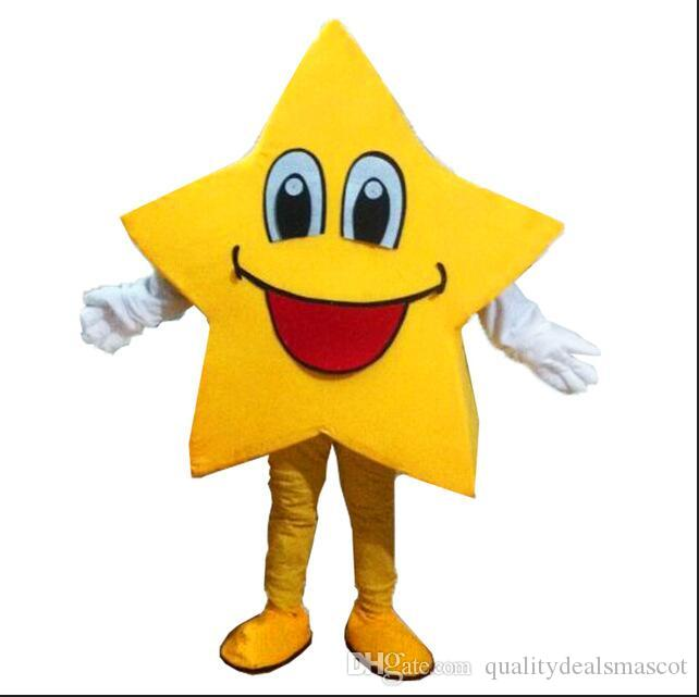 New Yellow Five Pointed Star Mascot Costumes Real Photo Long Hair Langteng Tm Food Costumes Moulin Rouge Costumes From Qualitydealsmascot $229.15| Dhgate.  sc 1 st  DHgate.com & New Yellow Five Pointed Star Mascot Costumes Real Photo Long Hair ...
