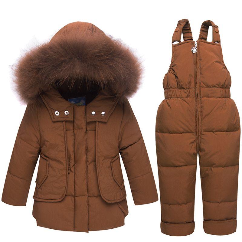 14f1e8185 2018 Down Jacket For Boys Girls Kids Snowsuits Winter Jackets ...