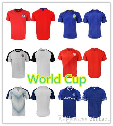 b36b1641bd9 1819 World Cup Everton Panama Men's Football Thai Jersey 2019 Costa ...