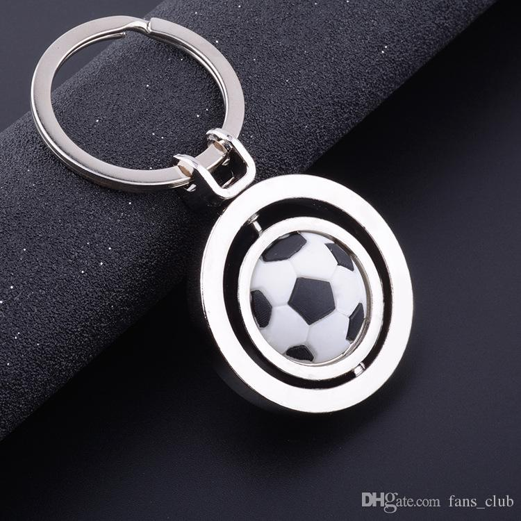 PVC 2018 Football World Cup Keyring Sport football shirt clothes Pendant keychain Brazil Argentina jersey model key chain toy Fan gift