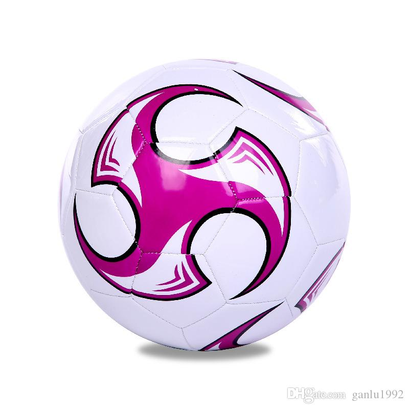 Sports Goods Foot Ball Creative PU Football For Children Gifts Multi Color High Quality 17jx C R