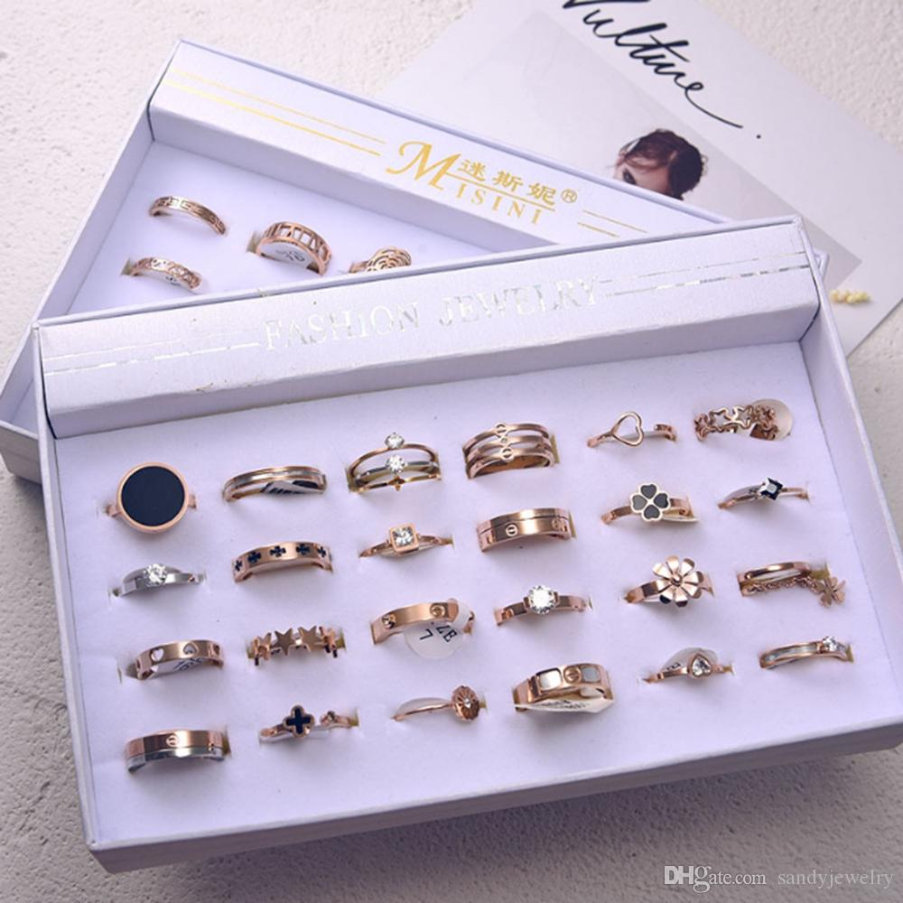 HOT ! stainless steel difference fancy style fit men and women size 16-22 mix choose a