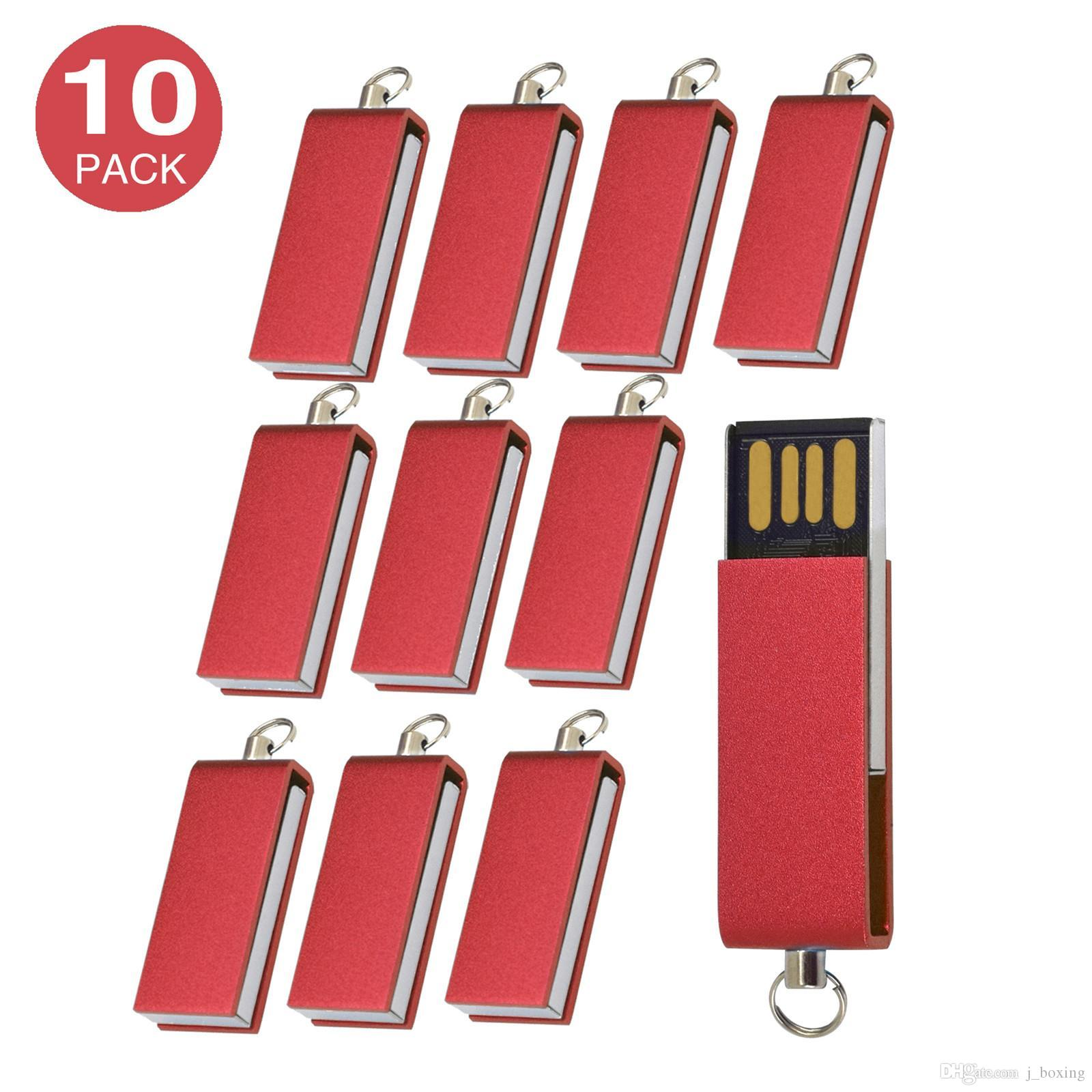 10x  8GB USB Flash Drive Pen Drives Thumb Drives USB2.0 Sticks Bulk Lot