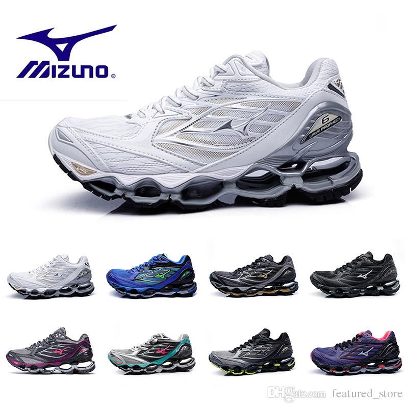 34f7791c67f1 ... coupon 2018 new mizuno wave prophecy 6 mens designer running shoes for  men hot authentic sports