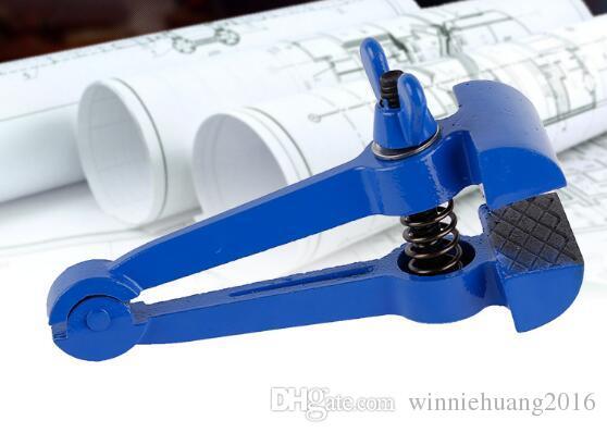 Top Qualität 1 STÜCKE Spheroidal Graphit Stahl Hand Schraubstock Clamp DIY Werkzeug Mini Tabelle umge Zangen Feste Klammer Handwerkzeug Backenlänge 25mm 40mm 50mm