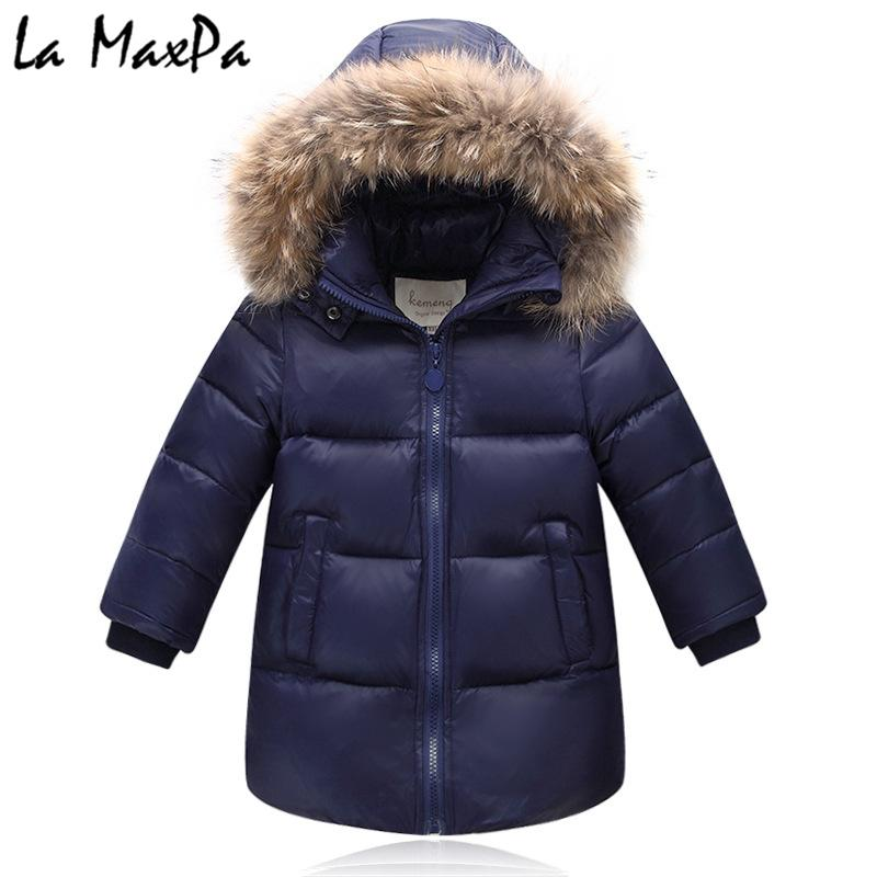 d07ee7784 2018 Winter Down Jacket Parka for Girls Boys Coats , 90% Down ...