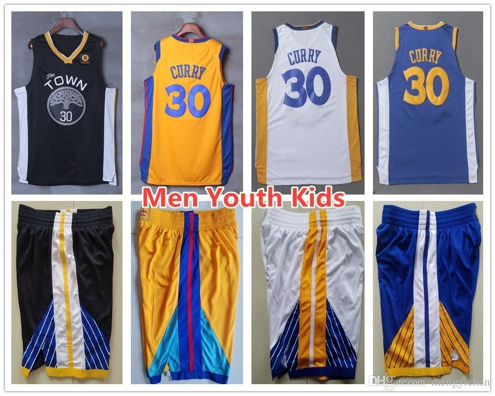 2675d90e5 ... uk 2018 men youth kids sweatshirt 30 stephen curry jerseys the town  black home road white