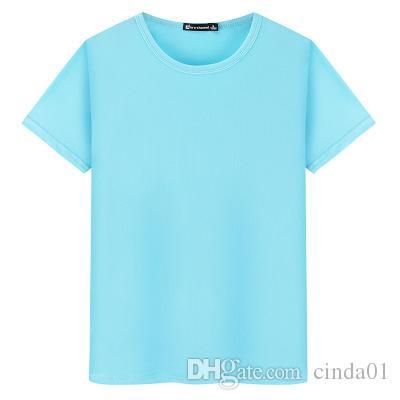 Diseño por encargo verano del hombre camisetas amante camiseta tops casuales con cuello redondo de algodón de manga corta