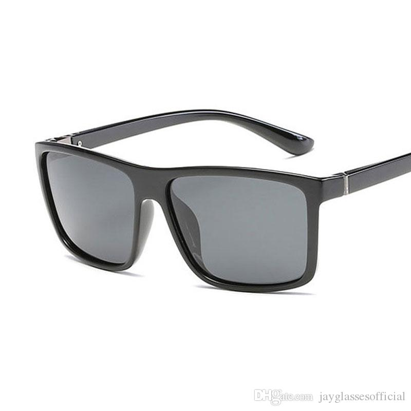 ... Clássico Polarizada Óculos De Sol Dos Homens Das Mulheres Designer De  Marca De Moda Quadrado Do Vintage Condução Óculos De Sol Para Óculos  Masculinos ... c546cf0421