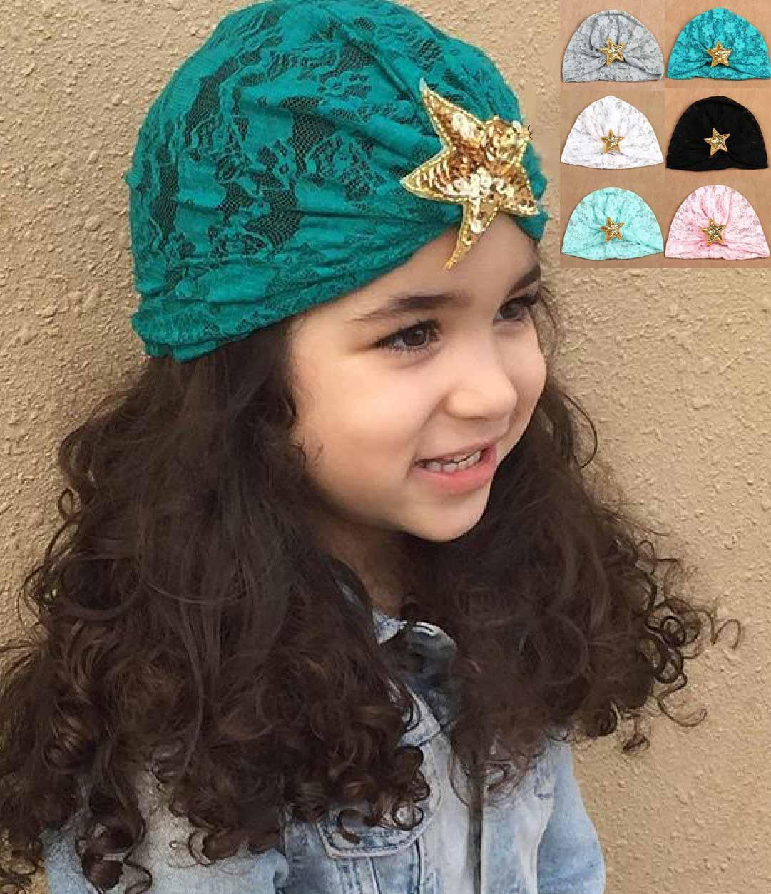 Baby Girl Bandanas Turban Head Wrap Girl Hat Indian Cap With Shinning Star  Many Styles Bow Hair Accessories Pearl Hair Accessories From Shunhuico ebc0422f4fb