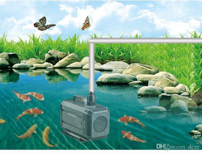 SUNSUN HQB-2500 55W 2000L / H多機能水族館水槽と水陸両用カーテン池の噴水ポンプ220-240V