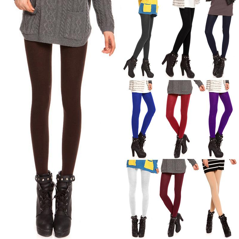 1fd6aee133d 2019 Sexy Women Tights 120D Anti Hook Wire Velvet Pantyhose Warm Thin  Opaque Footed Stocking Fashion Female Collant Hosiery From Lvyou09