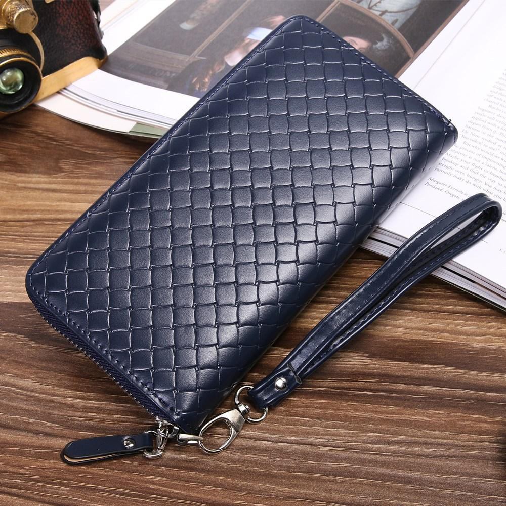 2848951565 Men Wallet Brand Famous Mens Leather Long Wallet Clutch Male Money Purse ID  Card Holder Carteira Masculina