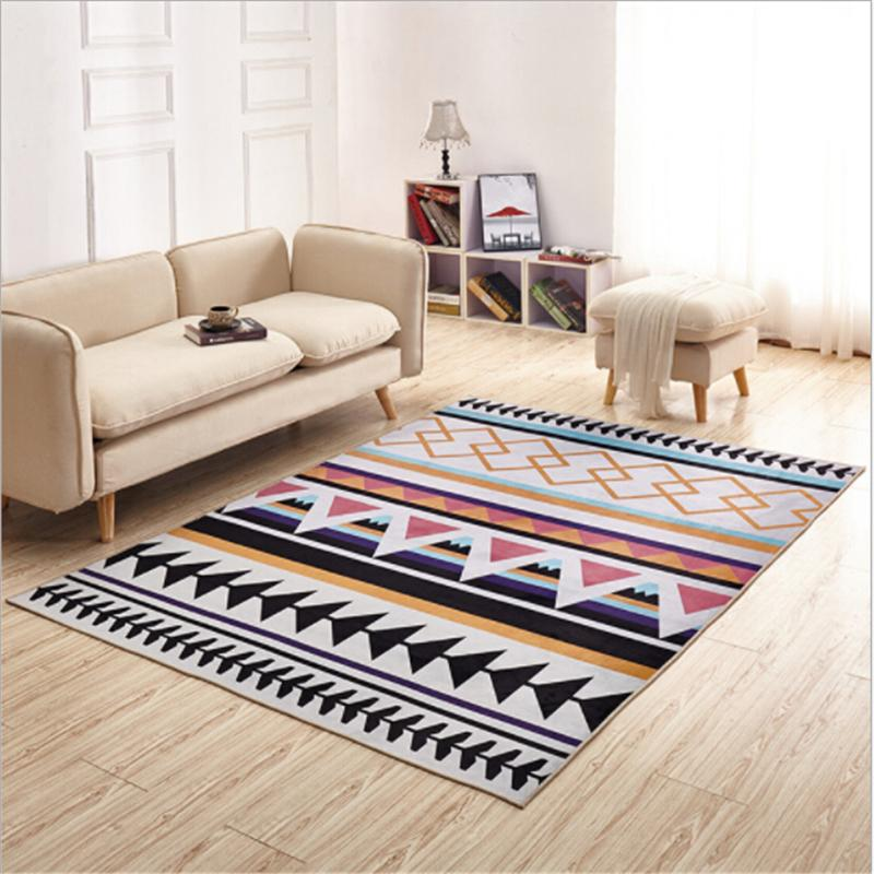 Nordic Hot Sale Delicate Polyester Carpets For Living Room Bedroom ...