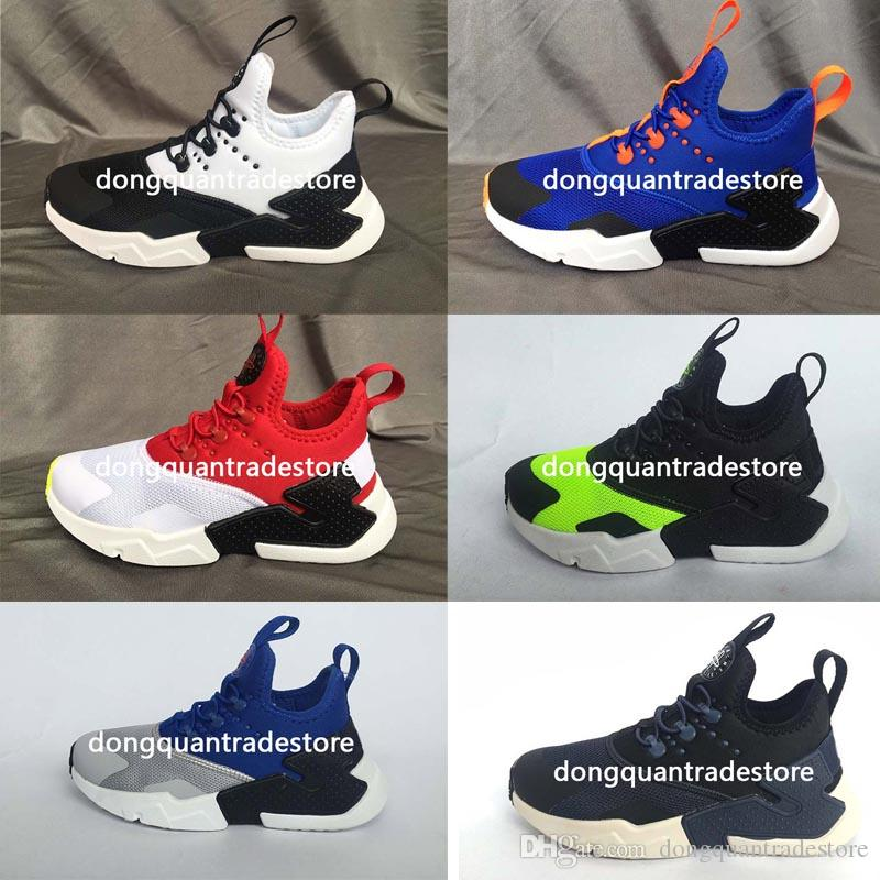 044e335c79c7 Huarache Running Shoes Kids Sports Shoes Children Huaraches Designer  Hurache Casual Trainers Baby Running Sneakers Kid Shoes Huarache Running  Shoes Online ...