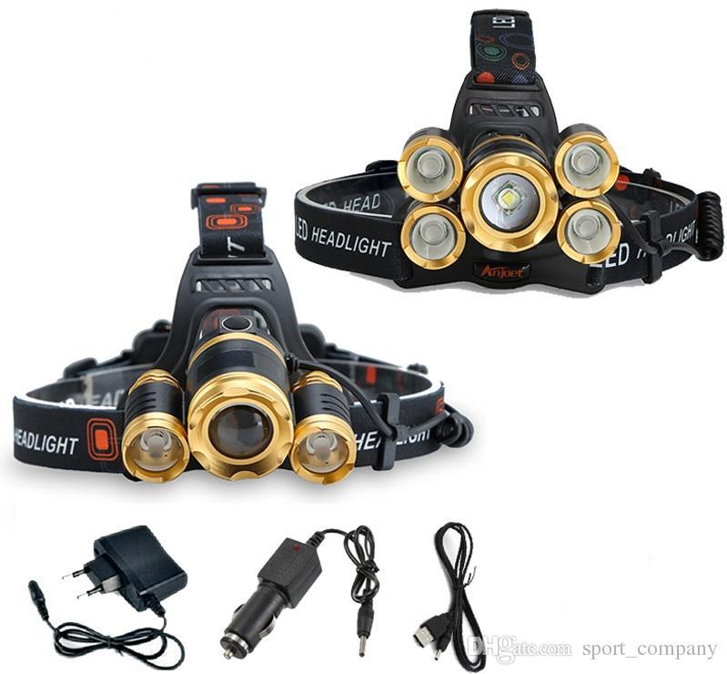 Phare De Zoomable Rechargeable Xm Lampe Frontale Étanche Chargeur T6 Lumens Poche Usb Led 15000 Torche L PkiZXu