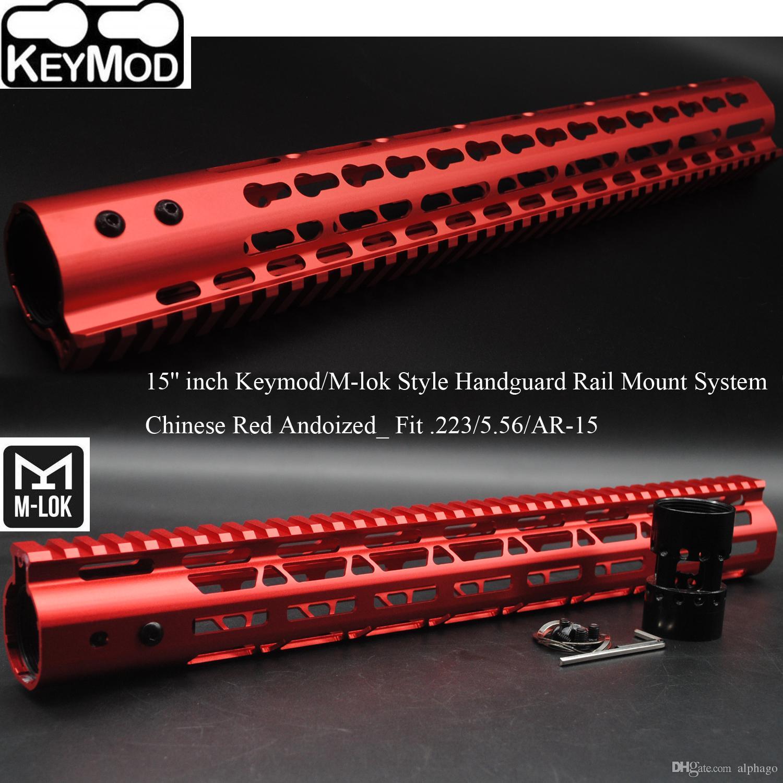 2019 15 Inch Keymodm Lok Style Handguard Rail Free Float