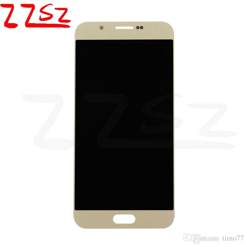 Factory price Super OLED LCD display touch screen For Samsung Galaxy A8 A8000 No Dead Pixel Digitizer 24 months warranty DHL