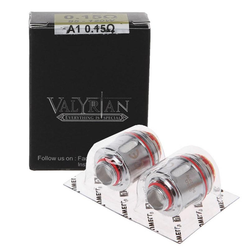 2PCS/Pack Authentic Uwell Valyrian Coil Head 0 15ohm 95-120W Electronic  Cigarette Coil Core for Uwell Valyrian Atomizer