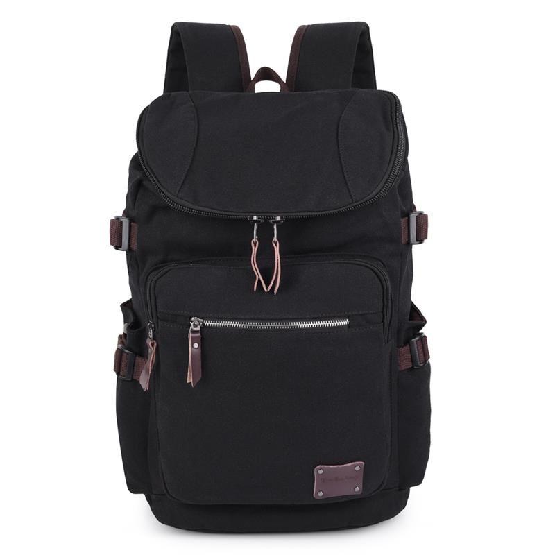 b8c464f19b Vbiger Mens Newest Canvas Backpack Large Capacity Traveling Rucksack Daypack  Casual Shoulder Bag Fashion Style For Men And Women Jansport Big Student ...