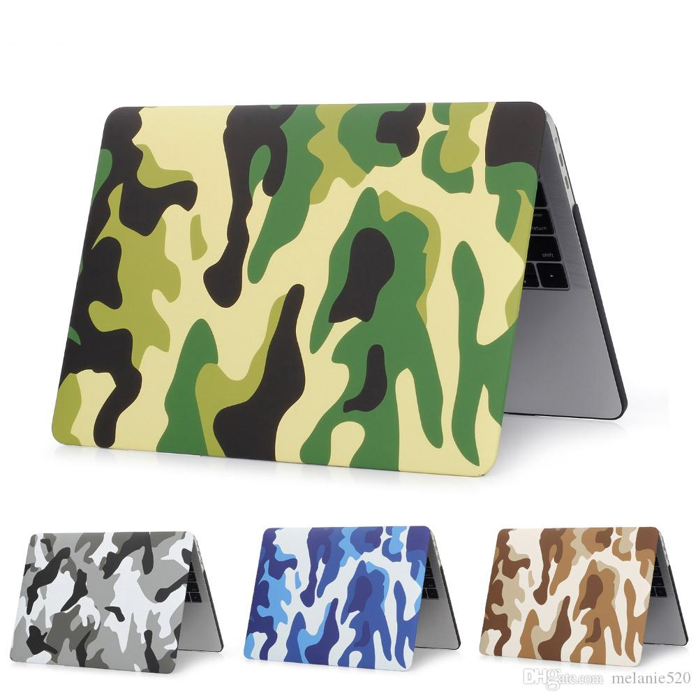 differently a0d95 6da2a For Macbook Air /Pro Retina full series Laptop Camo Case New Hard  camouflage Full Protective Laptop Cover