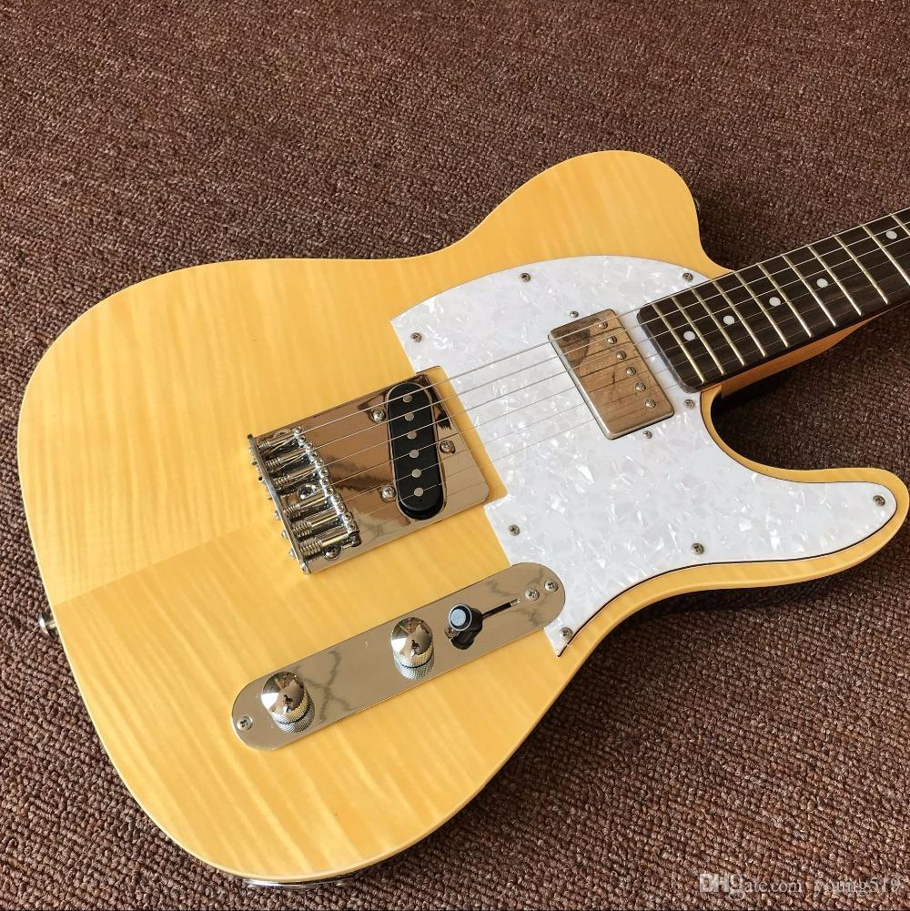 The Best Custom Store New High Quality Yellow Tv Electric Guitar
