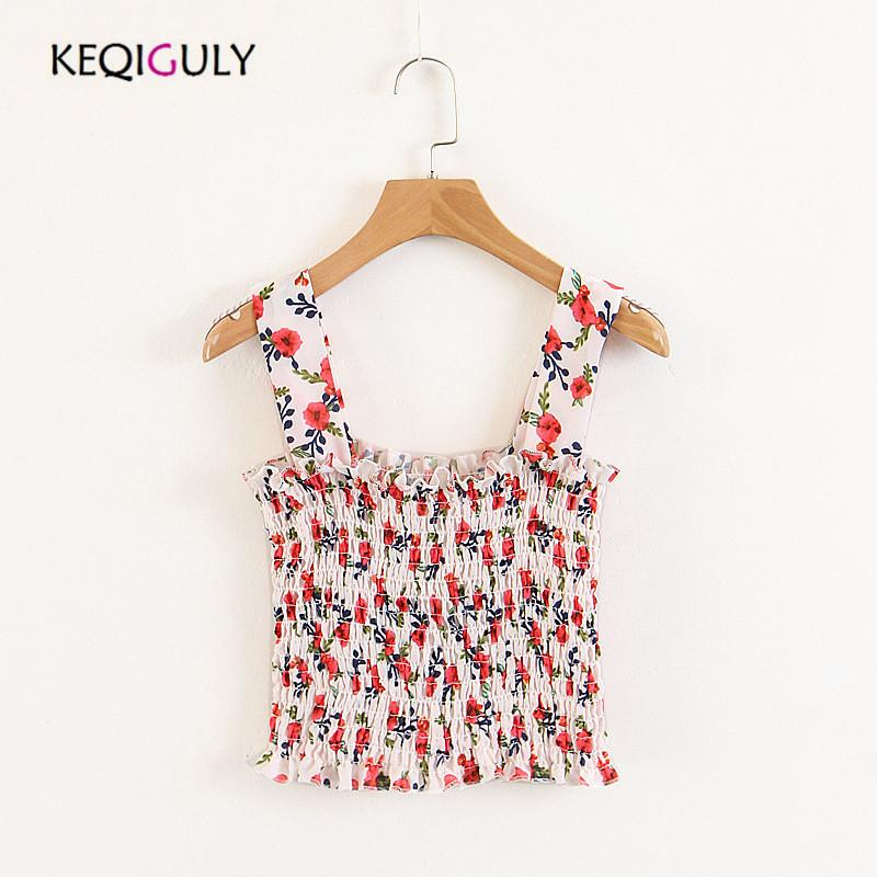 a7553113f6ef6 Women Camisoles   Tanks Fancy Floral Strap Fashion Sexy Camisole ...