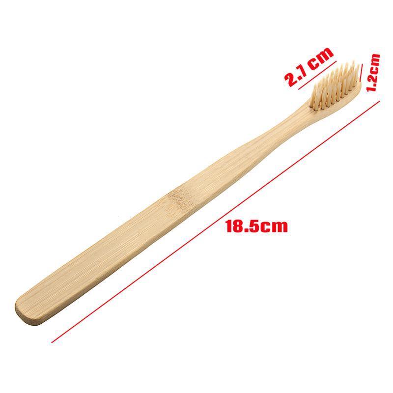 100% Bamboo Environmentally Toothbrush Wood toothbrush Novelty Bamboo soft-bristle Capitellum Bamboo Fibre Wooden Handle