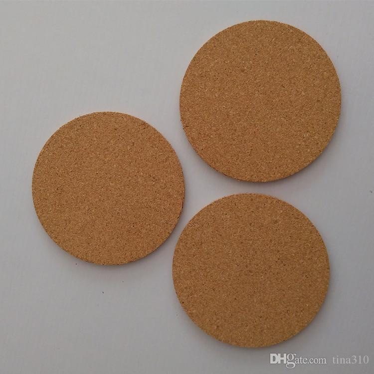 Classic Round Plain Cork Coasters Drink Wine Mats Cork Mats Drink Wine Mat ideas for wedding and party gift IB727