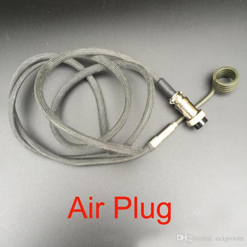 Clavo eléctrico apto 16 mm 20 mm Bobina EU EE. UU. Bobina del calentador Bobinas Calentador apto Enail Dnail 110V 240V 5 Pin XLR Macho