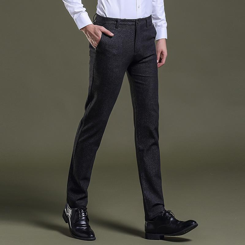 427275eb266 2019 Jbersee Men Dress Pants Formal Pants Slim Fit Suit Business Office  Casual Wedding Mens Dress Trousers Perfume Masculino From Baicao