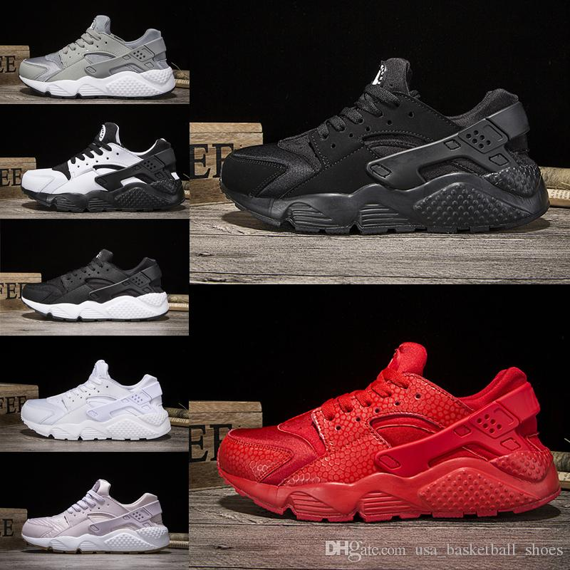 41065780d51 Wholesale Huarache 1.0 Running Shoes Classical Triple White Black Red Oreo  Gold Men Women Huarache Shoes Huaraches Sports Sneakers Eur 36 44 Tennis  Shoes ...