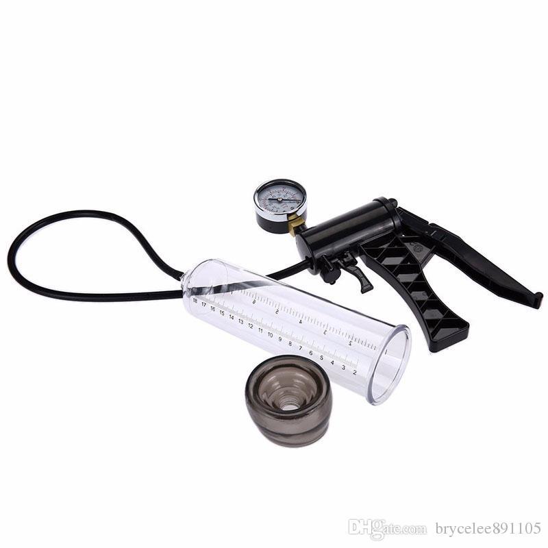 Yuelv الذكور ناحية محرك مضخة القضيب المكبر توسيع مع ماستر قياس الضغط تمديد للذكور مساعدة القضيب الموسع الجنس لعب للرجال غاي
