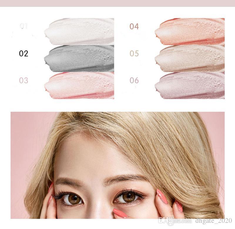 16 ألوان hengfang المعادن السائل عينيه بريق ظلال العيون السائل وميض عصا الجمال أداة كوريا التجميل هدية لفتاة الشحن