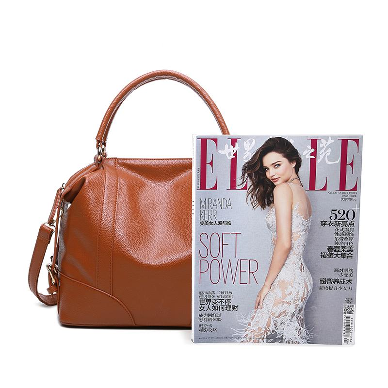 Bolish New Leather Bag Women Handbags lager size Crossbody Women's Shoulder Bags Ladies Casual Tote