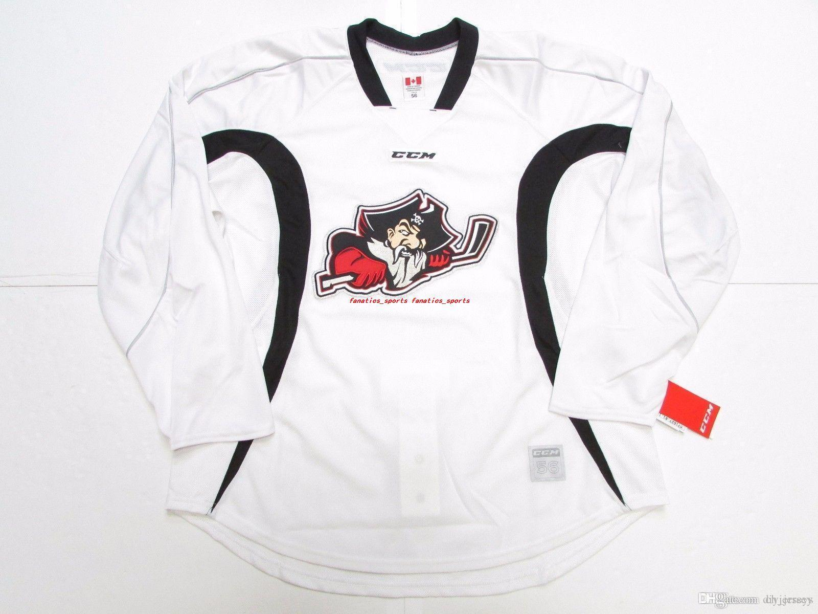 2018 Cheap Custom Portland Pirates Ahl White Practice Ccm Edge Hockey Jersey  Stitch Add Any Number Any Name Mens Hockey Jersey Xs 5xl From Diyjerseys 2886faec27f