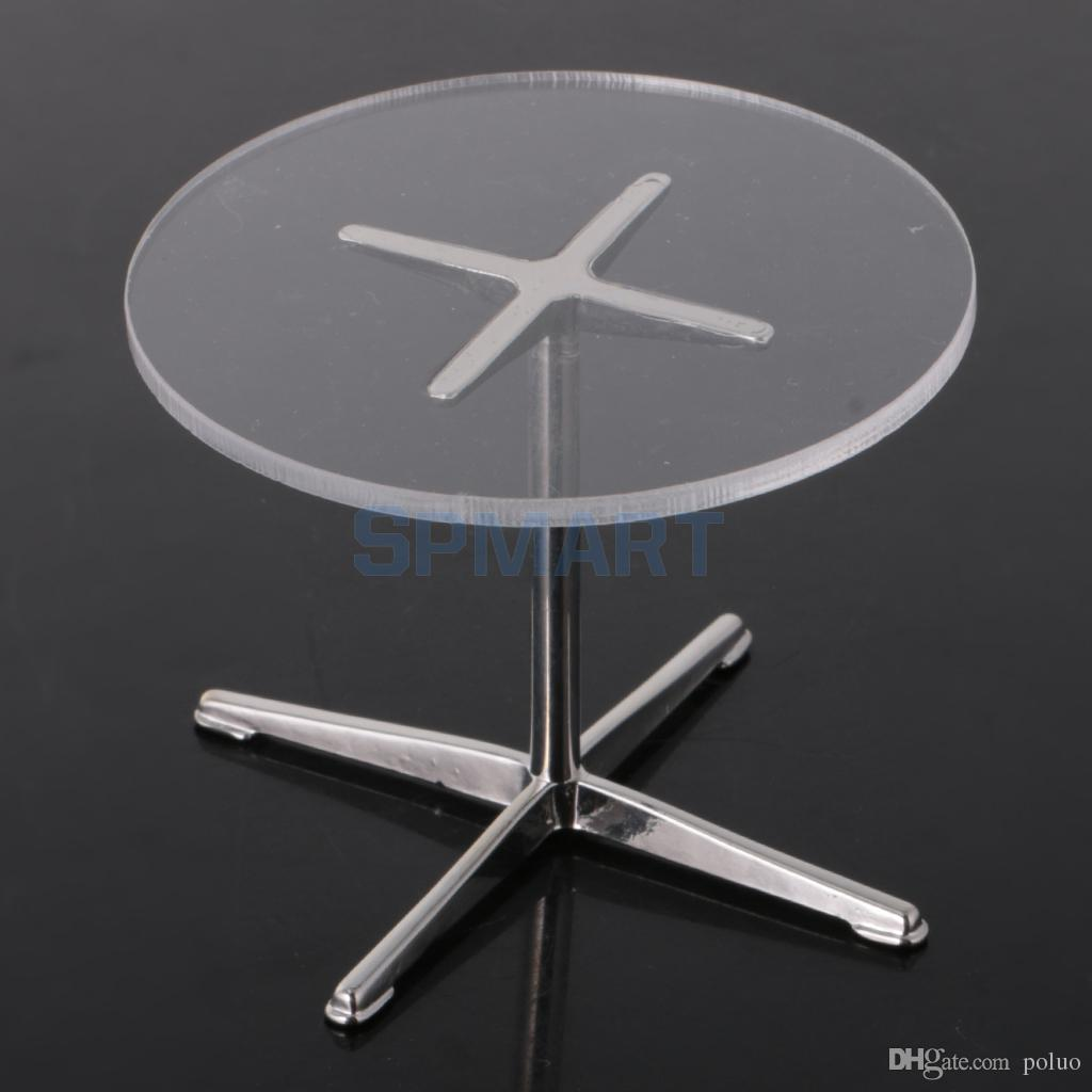 Wholesale 1 12 Dollhouse Miniature Simple Round Table Coffee Table