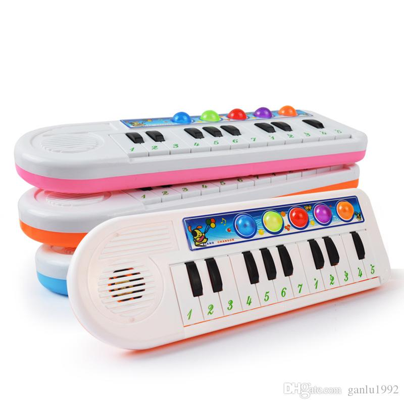 Plastic Piano Toys Early Childhood Musical Education Baby Toy Music Electronic Organ Factory Direct Sale 6 32bd X
