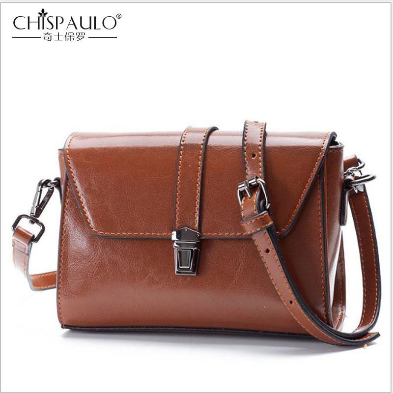 ad8cc47aa1 2018 New Fashion Women Handbags Genuine Leather Women Shoulder Bag ...