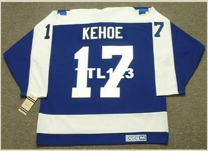 quality design afb44 cb413 Mens #17 RICK KEHOE Toronto Maple Leafs 1971 CCM Vintage Hockey Jersey or  custom any name or number retro Jersey