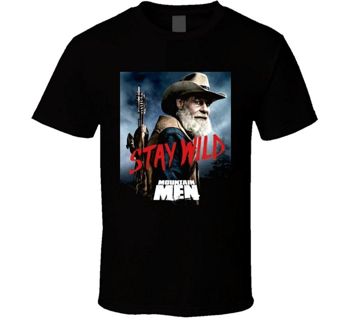 3be35a799e7 Mountain Men Tom Stay Wild Nature History Tv Show T Shirt Online with   16.68 Piece on Baisheng10 s Store