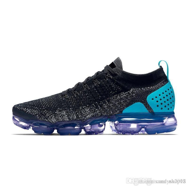 88ccf16a513 Acheter 2019 Nike Air VaporMax Max Flyknit Utility Athlètes Chaussures De  Course Entraîneur Sneakers Hommes Femmes Chaussures De Jogging Respirant ...
