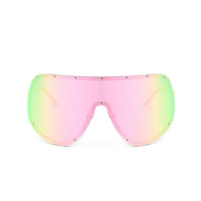 f730458977 Compre Gafas De Sol Cuadradas De Gran Tamaño Con Marco Polarizado Retro  Para Hombre Y Mujer De Diseño 2018 Nuevas Gafas Graduadas De Lente Plana  UV400 Con ...