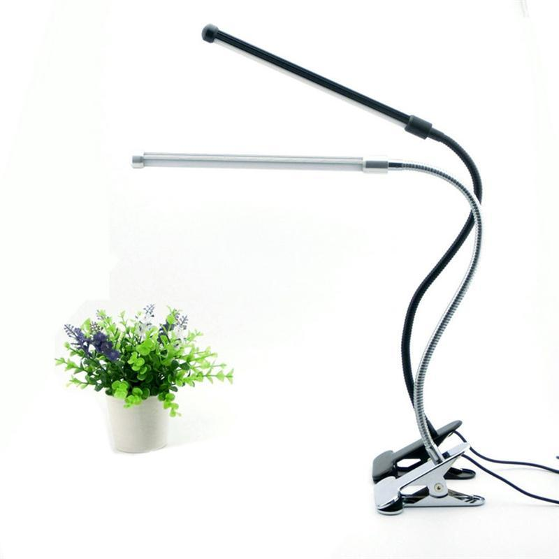 Led Reading Lamp Two Levels Brightness Switch Dimmer Desk Lamp With