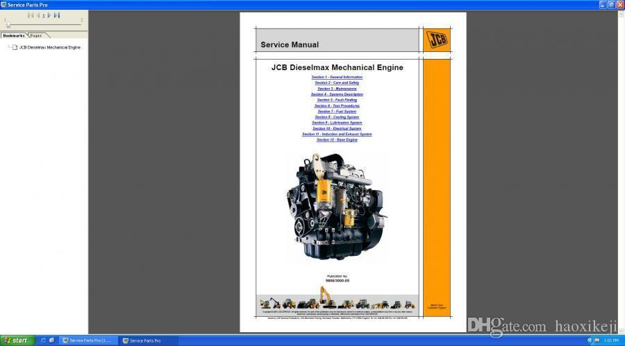 JCB Compact Service Manuals 2017 Spare Parts Catalog SPP Plus 2 00 with  keygen