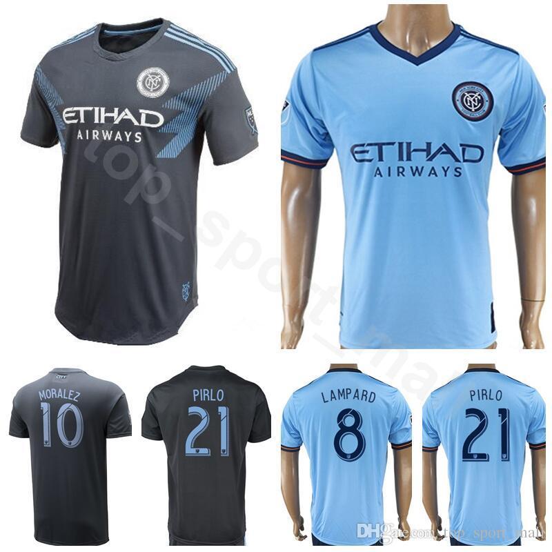 hot sale online e2c20 d4edb shop 2015 16 new york city fc 7 david villa home soccer ...