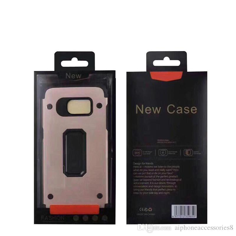 iP6 Phone Covers MOTOMO hard armor cases with kickstand anti shock cases luxury mobile phone cover for iphone 8 7plus