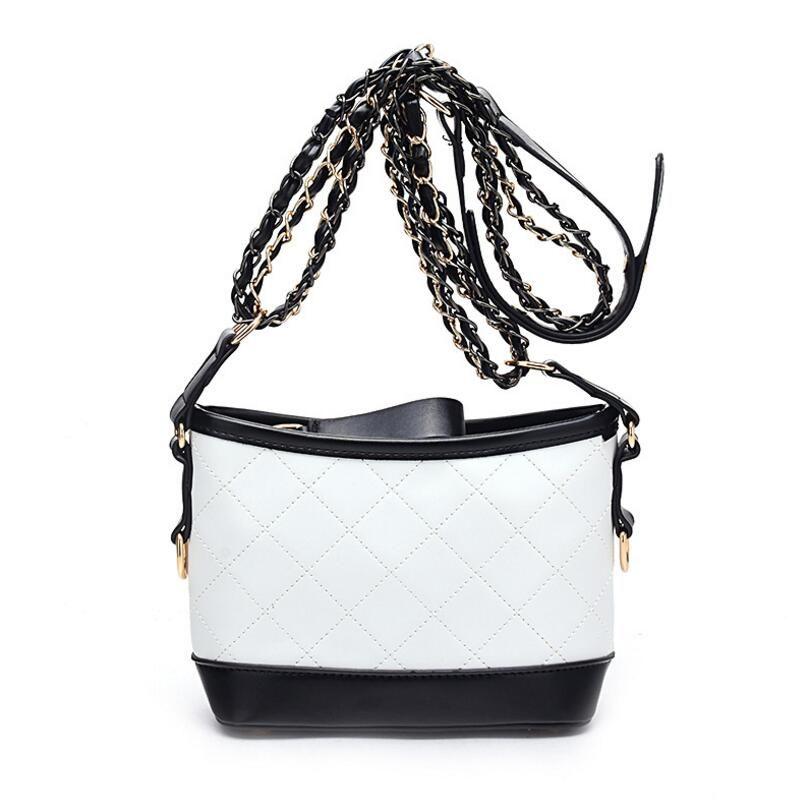 Women Color SplicingBags Fashion Zipper Designer Handbag Casual ... dd0c162aea185
